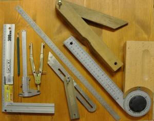 Rajzeszközök fafaragáshoz